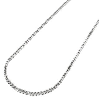 Sterling Silver 1.5mm Solid Franco Necklace