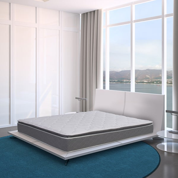 Blissful Journey RV Pillowtop Short King-size Innerspring Mattress