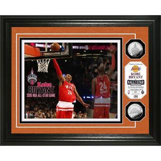 Kobe Bryant 2016 NBA All-Star Game Silver Coin Photo Mint