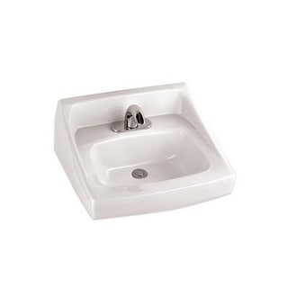 Toto Wall-mount Vitreous China 21.00 18.25 Bathroom Sink LT307.4#01 Cotton White