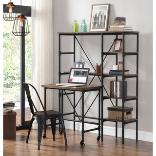 Industrial Workstation with Pull Out Desk