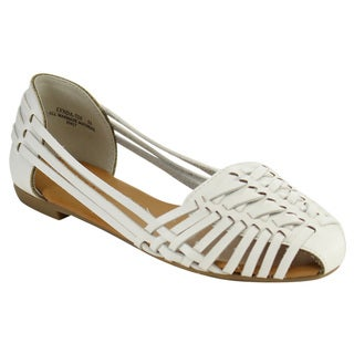 Bamboo Lynda-72s Strappy Slip On Sandals