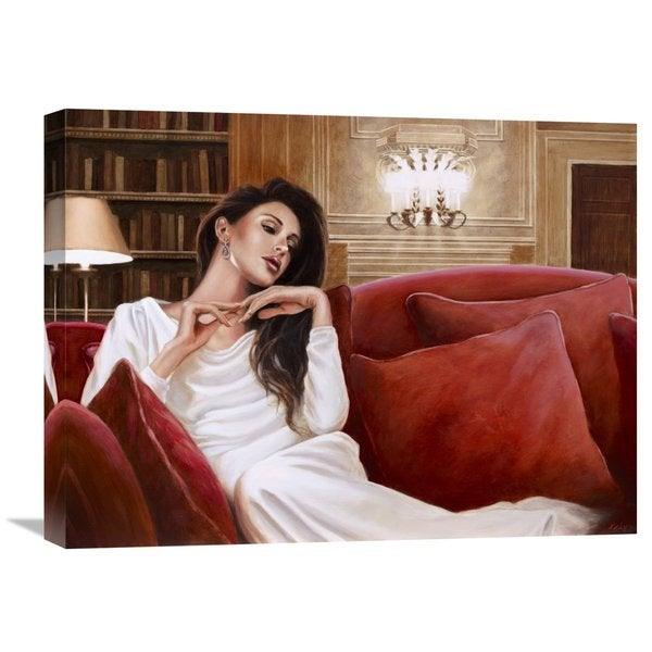Big Canvas Co., John Silver 'A sweet memory' Stretched Canvas Artwork