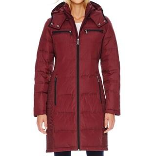 Michael Michael Kors Burgundy Down Puffer Coat (Size S)