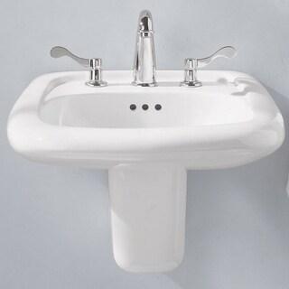 American Standard Murro Wall-Mount Porcelain 20.50 21.25 Bathroom Sink 0958.008EC.020 White