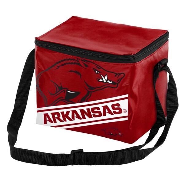 Arkansas Razorbacks 6-Pack Cooler 17752547