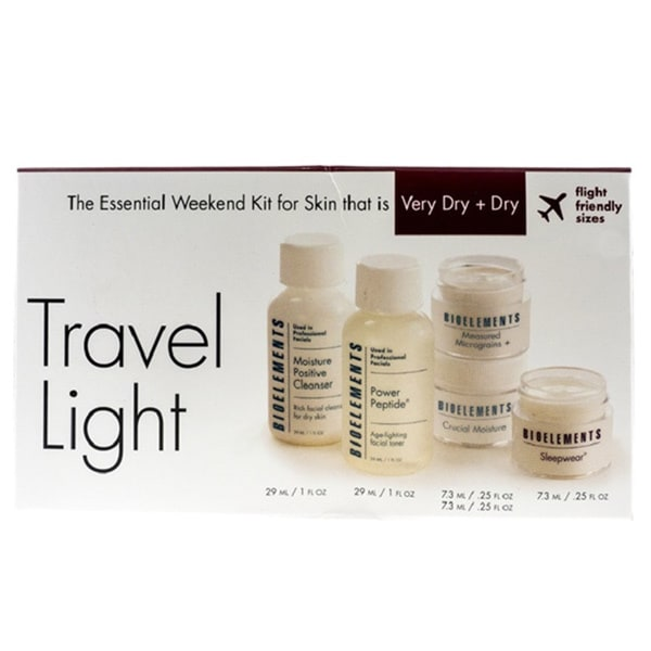 Bioelements Travel Light Kit for Very Dry and Dry Skin