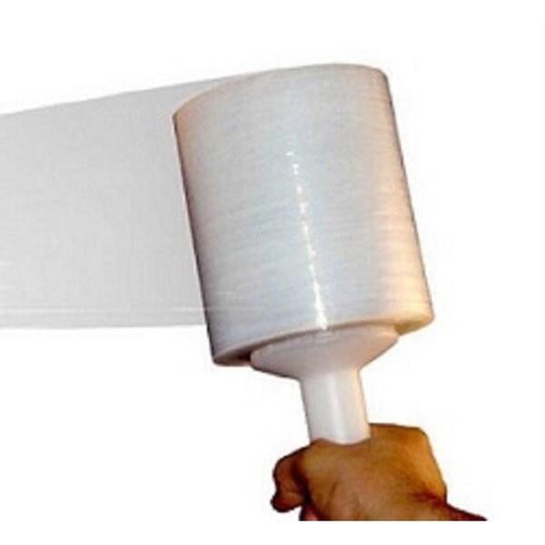 5-inch 1000-foot 63-gauge Bundle Banding Stiff Down Gauge Stretch Wrap Film 12 Rolls
