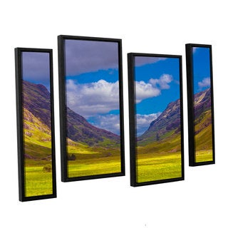 ArtWall Steve Ainsworth's Shadow Play, 4 Piece Floater Framed Canvas Staggered Set
