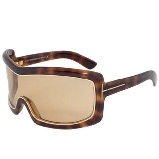 Tom Ford FT0305 52J Olga Oversized Shield Sunglasses
