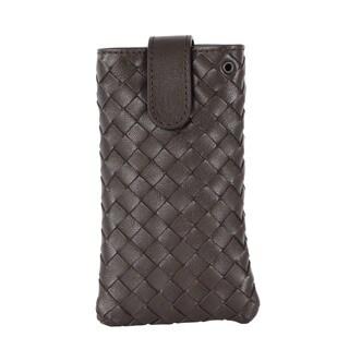 Bottega Veneta Dark Brown Iphone Case