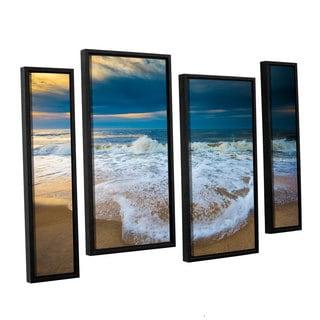 ArtWall Steve Ainsworth's 'Never Ending' 4-piece Floater Framed Canvas Staggered Set