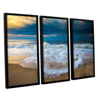 ArtWall Steve Ainsworth's 'Never Ending' 3-piece Floater Framed Canvas Set