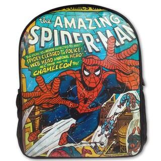 Marvel Comic Close Up Spider-Man Backpack