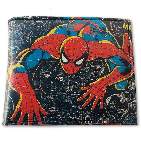 Marvel Comics Close Up Spider-Man Wallet