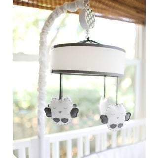 New Arrivals Grey Owl Crib Mobile