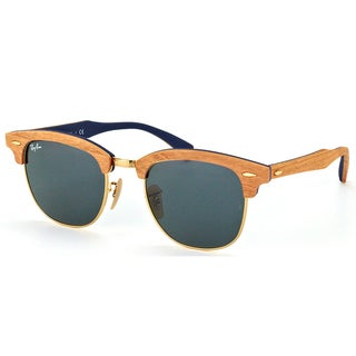 Ray-Ban Clubmaster Wood RB 3016M 1180R5 Cherry Clubmaster Plastic 51mm Sunglasses