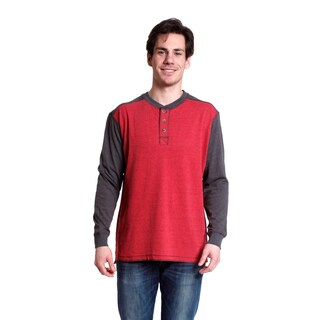 Stanley Men's Long Sleeve Sueded Jersey Henley