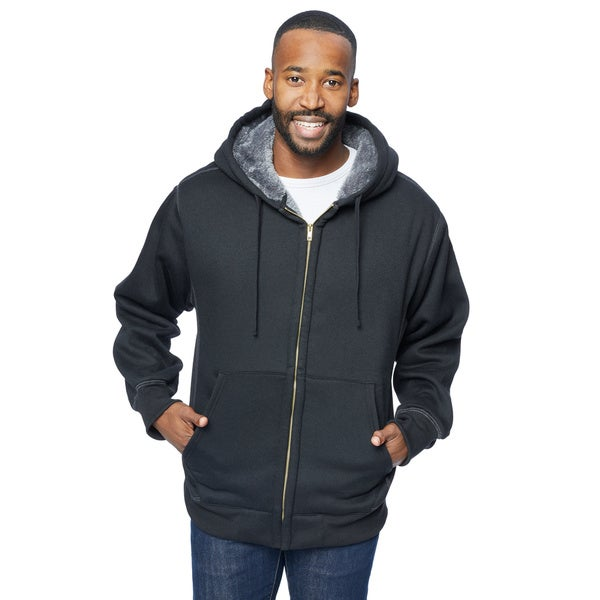 Stanley Men's Sherpa-Lined Fleece Hoodie 21974367