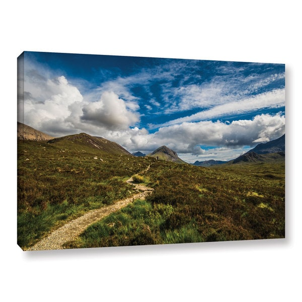 ArtWall Steve Ainsworth's 'Heart Of The Mountains' Gallery Wrapped Canvas