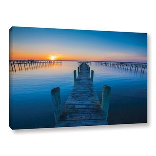 ArtWall Steve Ainsworth's 'Blue Is The Bay' Gallery Wrapped Canvas
