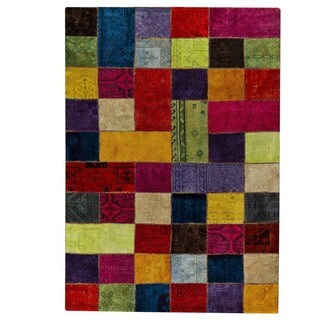 M.A.Trading Hand-knotted Renaissance Multicolored Rug (7'10 x 9'10)