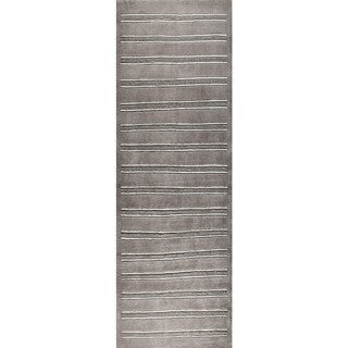 M.A.Trading Hand-knotted Chicago Grey Rug (2'8 x 7'10)