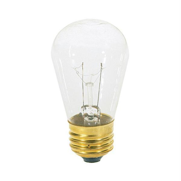 Medium Size Clear 11-watt Light Bulb (12 Pack)