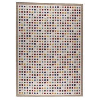 M.A.Trading Hand-woven Khema1 Multicolored Rug (9' x 12')
