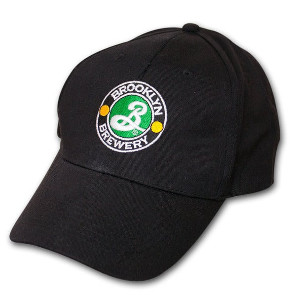 Brooklyn Brewery Embroidered Black Logo Adjustable Baseball Hat