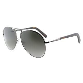 Tom Ford Cody TF 448 08B Ruthenium Aviator Metal Sunglasses
