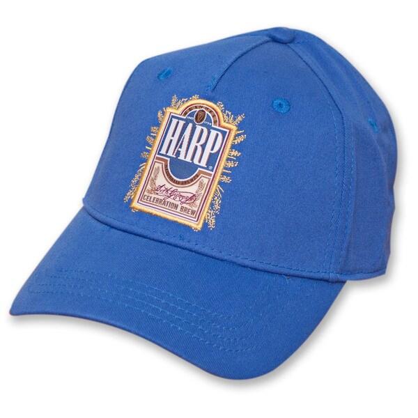 Harp Lager Hat Beer Guinness Logo Cap