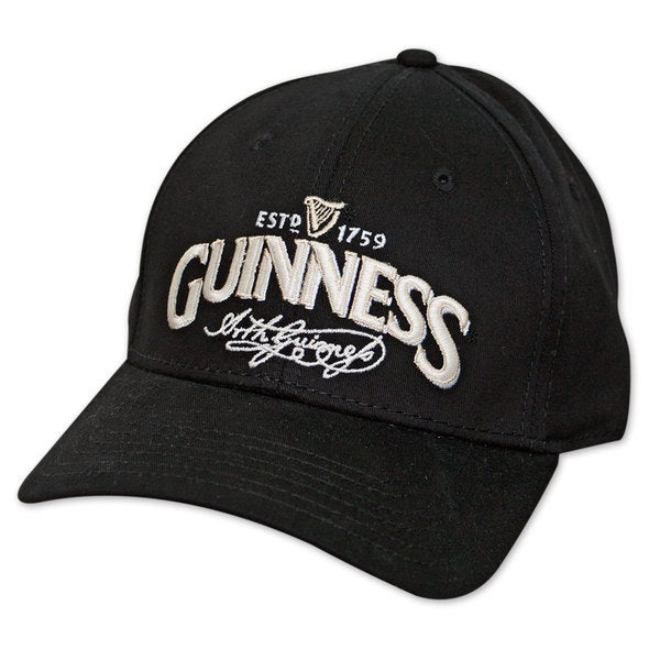 Guinness Signature Label Black Hat