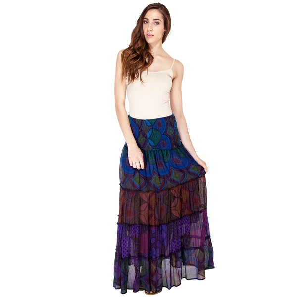 Midnight Melodies Mystical Gypsy Skirt (Nepal)