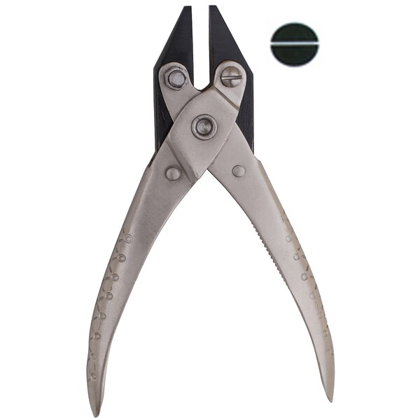 JSP Pliers, Parallel Chain Nose Smooth Jaw - 46.520 (pl130)