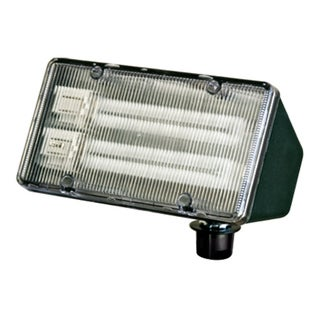 Jaxon 2-Light Outdoor Green Flood Light