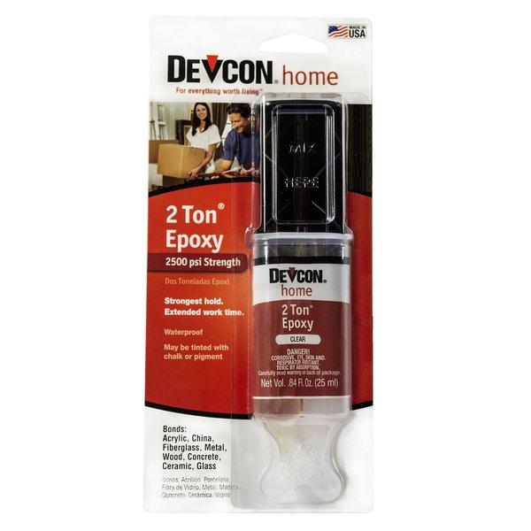 DEVCON 2 TON EPOXY .84fl oz. SYRINGE ( 6 pack) (gl31345x6)