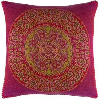 Decorative Brunoy 20-inch Poly or Down Filled Throw Pillow