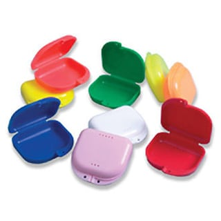 Retainer Box Orthodontic , colors vary(Set Of 5)(bx1090/40)