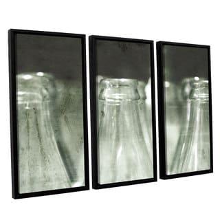 ArtWall Mark Ross's 'Reunion' 3-piece Floater Framed Canvas Set