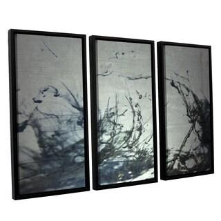 ArtWall Mark Ross's 'Reincarnate' 3-piece Floater Framed Canvas Set