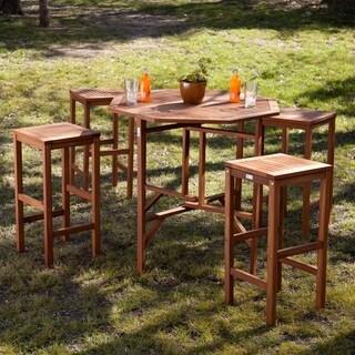 Upton Home Tavara 5-piece Outdoor Gathering Set