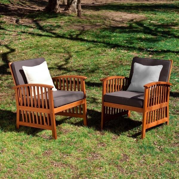 Harper Blvd Charlotte 2-piece Outdoor Armchair Set