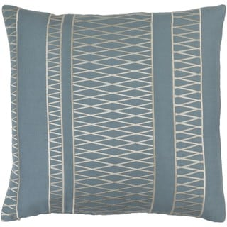 GlucksteinHome: Decorative Baton Rouge 20-inch Poly or Down Filled Throw Pillow
