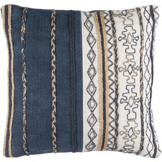 Decorative Bostwick 20-inch Poly or Down Filled Throw Pillow