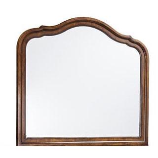 Luciano Traditional Landscape Scalloped Mirror