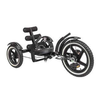 Mobo Mobito Sport The Ultimate Three Wheeled Youth Cruiser (Black)