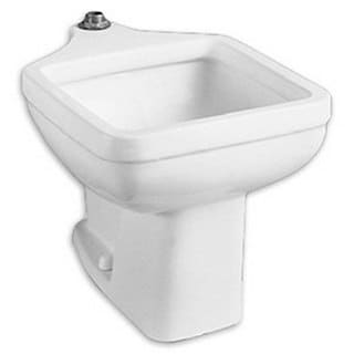 American Standard Free Standing Porcelain 27.75 20.00 Bathroom Sink 9504.999.020 White
