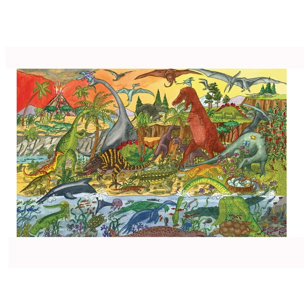 Bigjigs Toys 24 Piece Dinosaur Puzzle 17765186