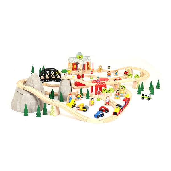 Bigjigs Toys Mountain Railway Set